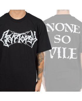 CRYPTOPSY - None So Vile Logo - Camiseta