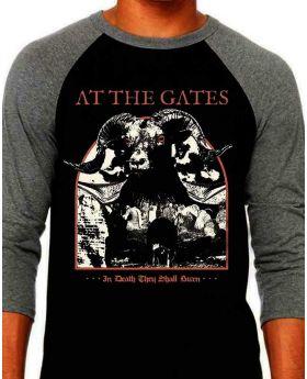 AT THE GATES - In Death They Shall Burn Raglan - Buzo-XL