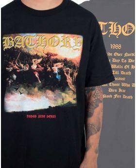 BATHORY - Blood Fire Death - Camiseta