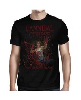 CANNIBAL CORPSE - Red Before Black Cover - Camiseta