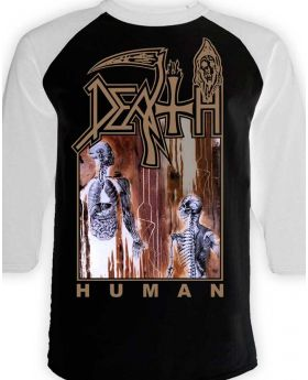 DEATH - Human raglan - Buzo - M