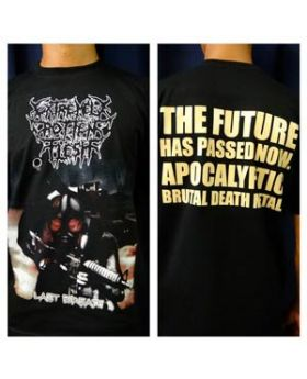 EXTREMELY ROTTEN FLESH - Last Breath - Camiseta