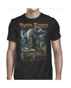 GRAVE DIGGER - Exhumation Clan - Camiseta -L
