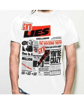 GUNS N ROSES - Lies White - Camiseta