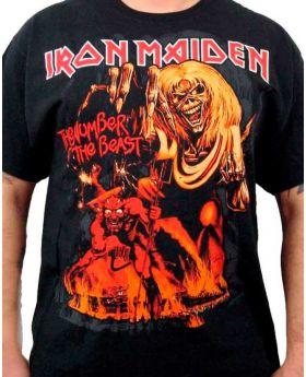 IRON MAIDEN - Number of the Beast - Camiseta