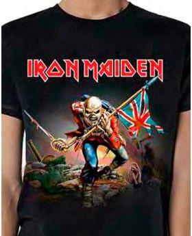 IRON MAIDEN - The Trooper - Camiseta