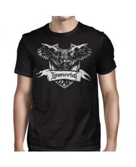 IMMORTAL - Crest - Camiseta