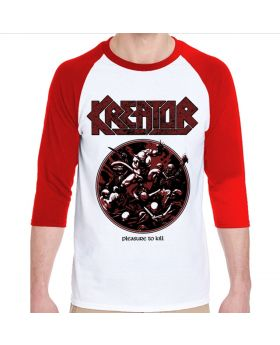 KREATOR - Pleasure to Kill Raglan - Buzo