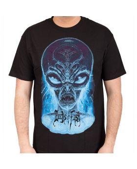 DEEDS OF FLESH - Alien Head - Camiseta