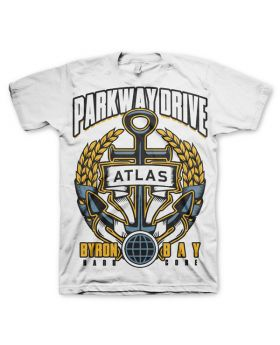 PARKWAY DRIVE - Anchor (White) - Camiseta-XL