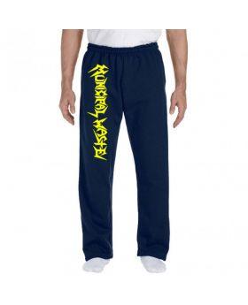 MUNICIPAL WASTE - Yellow Logo - Pantalon Sudadera