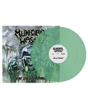 MUNICIPAL WASTE - Slime And Punishment - Bottle Green Vinyl - LP