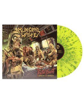 MUNICIPAL WASTE - The Fatal Feast - Yellow w/Green Splatter - LP
