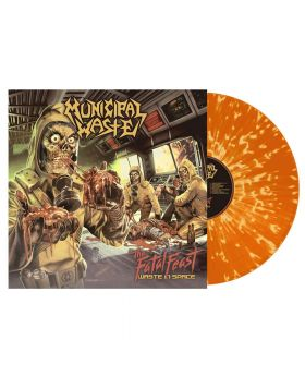 MUNICIPAL WASTE - The Fatal Feast - Orange w/Yellow Splatter - LP