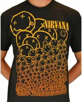 NIRVANA - Many Smiles - Camiseta