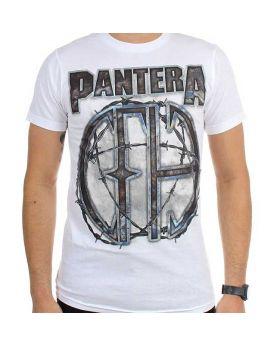 PANTERA - 81 White - Camiseta