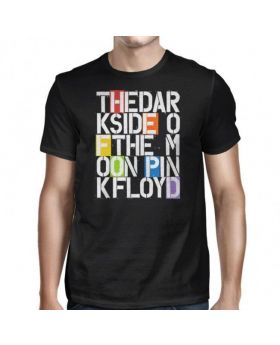 PINK FLOYD - Stencil Letters - Camiseta