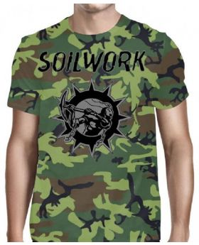 SOILWORK - Swedish Metal Attack Camo - Camiseta