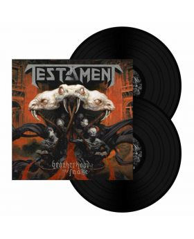 TESTAMENT - Brotherhood Of The Snake (Black Vinyl) - 2LP