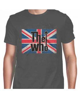 THE WHO - Union Jack Logo - Camiseta