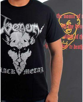 VENOM - Black Metal - Camiseta